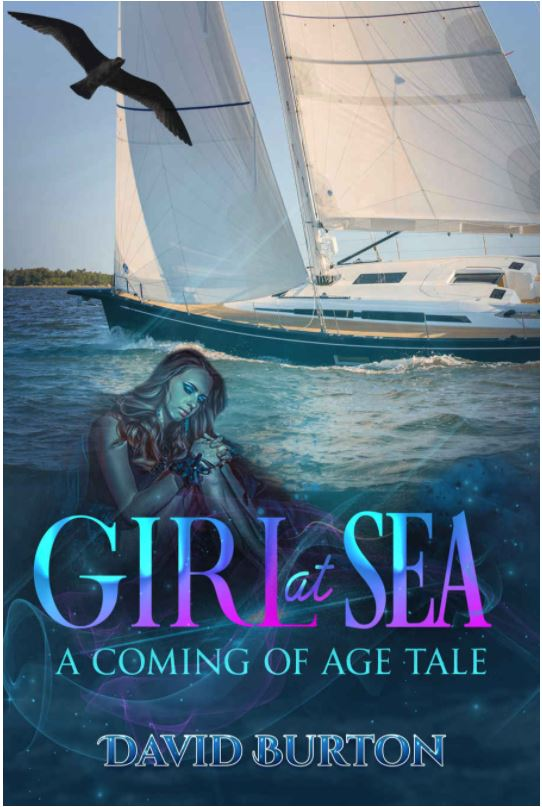 Original Book Cover - Girl at Sea: A Coming of Age Tale Urban Fantasy, Dark Fantasy Thriller