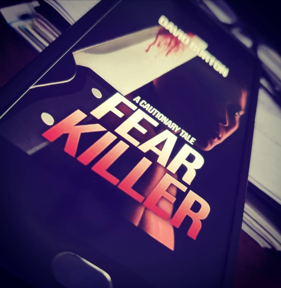 Copyright@thescribblersrefuge.com, 2021  Book Review - -Fear Killer: A Cautionary Tale   Psychological thriller, Crime Fiction, Murder Mystery